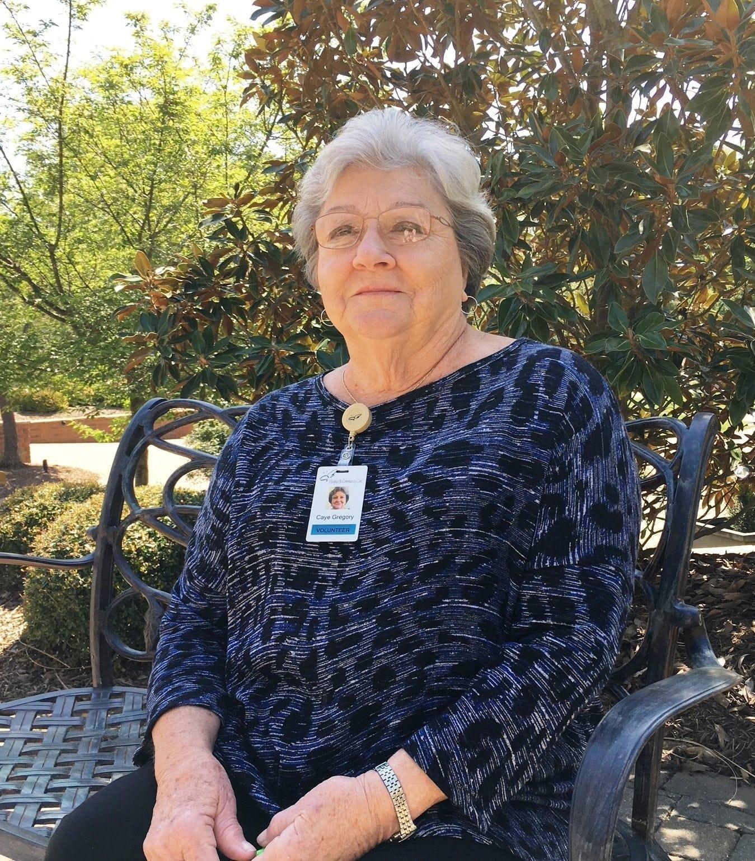 Volunteer Spotlight: Caye Gregory